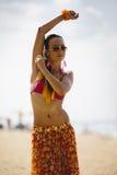 Lato taniec Obrazy Royalty Free