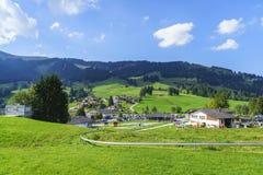 Lato tobogan w Szwajcaria Zdjęcie Stock