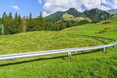Lato tobogan w Szwajcaria Zdjęcia Stock