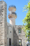 Lato turco di rovina della moschea di Lerapetra fotografie stock