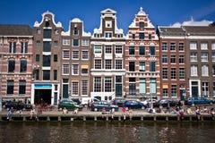 Lato w Amsterdam Zdjęcia Stock
