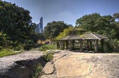 Lato w central park Fotografia Royalty Free