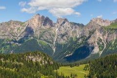 Lato w dolomitach - Włochy Obrazy Royalty Free