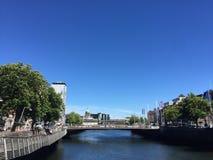 Lato w Dublin Zdjęcia Royalty Free