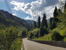 Lato w górach fotografia stock