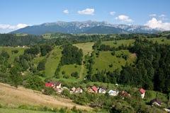 Lato w górskiej wiosce Fotografia Royalty Free