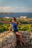 Lato w Malta fotografia royalty free