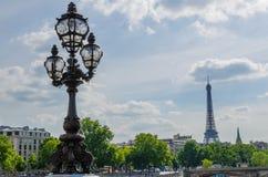 Lato w Paryż Obrazy Royalty Free