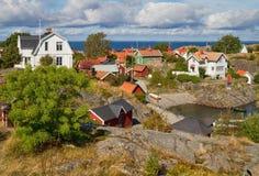 Lato w Sztokholm archipelagu. Fotografia Royalty Free