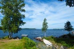 Lato w Szwecja Fotografia Royalty Free