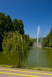 Lato w Tytanu Parku Fotografia Stock