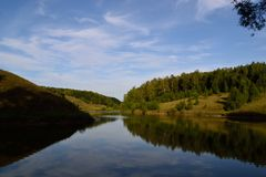 Lato w Ukraina Obraz Stock