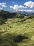Lato w Valgardena, Włochy Zdjęcie Royalty Free