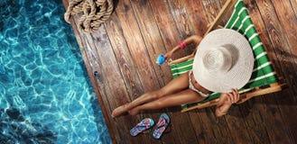 Lato wakacje Obrazy Stock