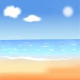 Lato wektoru ilustracja Zdjęcie Royalty Free