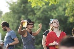 Lato Well festiwal 2015 Fotografia Stock