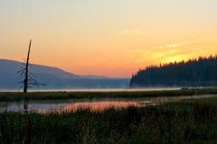 Lato wschód słońca Zdjęcie Stock