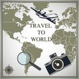 Lato wycieczka różni kraje Fotografia Royalty Free