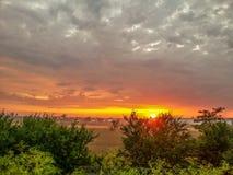 Lato wymarzony wschód słońca, Rumunia Zdjęcia Royalty Free