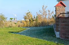 lato zima Fotografia Stock