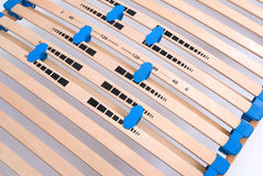 Latoflex, birch, wood slats Royalty Free Stock Image