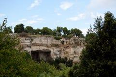 Latomia del Paradiso Syracuse, Sicily, Italy Stock Image