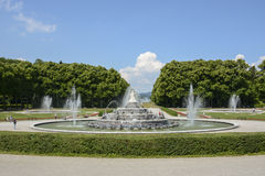 Latona-Brunnen Herrenchiemsee Lizenzfreie Stockfotografie