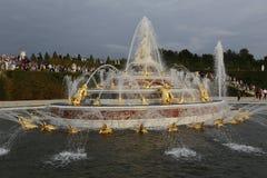 'Latona fontanna', górska chata de Versailles, Francja, strzał SIERPIEŃ 8, 2015 Obraz Royalty Free