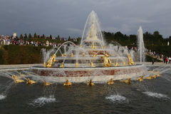 'The Latona Fountain' , Chateau de Versailles, France, shot AUGUST 8, 2015 Royalty Free Stock Image