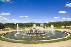 Latona Fountain spraying water Royalty Free Stock Images