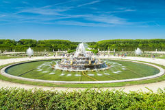 Latone fountain in royal residence Versailles, France Stock Photography