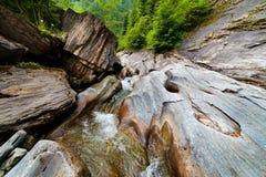 Latoritei Valley in Romania mountains Stock Image