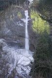 Latourell Falls Frozen Stock Photos