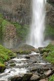 Latourelle Falls, Oregon. Springtime at Latourelle Falls in the Columbia River Gorge National Scenic Area, Oregon Stock Photography
