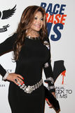 LaToya Jackson arrives at the 19th Annual Race to Erase MS gala Royalty Free Stock Image