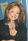 LaToya Jackson. At the 2004 World Music Awards in the Thomas Mack Arena at UNLV, Las Vegas, NV. 09-15-04 Stock Images