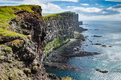 Latrabjarg cliffs Royalty Free Stock Images