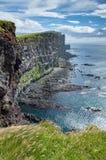 Latrabjarg klippor Royaltyfri Fotografi