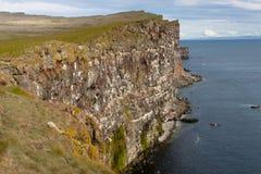 Latrabjarg northwestern tip of Iceland. Stock Image