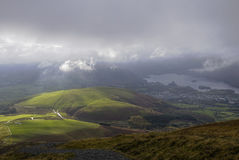Latrigg Fell Royalty Free Stock Images