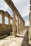 The Latrine in Hierapolis, Denizli, Turkey Royalty Free Stock Photography