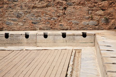Latrines at Ephesus Stock Photography