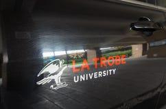 LaTrobe universitet i Melbourne Australien Royaltyfri Fotografi