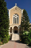 Latrun church. Royalty Free Stock Photo