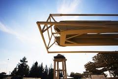 LATRUN, ISRAËL 13 MARS 2018 : Site commémoratif et le musée blindé de corps dans Latrun, Israël photo libre de droits