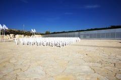 LATRUN, ISRAËL 13 MARS 2018 : Site commémoratif et le musée blindé de corps dans Latrun, Israël photographie stock libre de droits