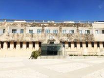 LATRUN, ISRAËL 13 MARS 2018 : Site commémoratif et le musée blindé de corps dans Latrun, Israël photographie stock