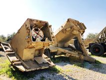 LATRUN, ISRAËL 13 MARS 2018 : Site commémoratif et le musée blindé de corps dans Latrun, Israël image libre de droits