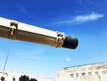 LATRUN, ISRAEL 13. MÄRZ 2018: Erinnerungsstandort und das gepanzerte Korps-Museum in Latrun, Israel Lizenzfreie Stockbilder