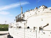 LATRUN, ISRAEL 13. MÄRZ 2018: Erinnerungsstandort und das gepanzerte Korps-Museum in Latrun, Israel Lizenzfreie Stockfotos